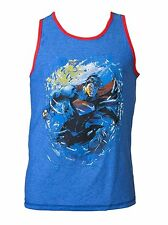 Bioworld DC Comics Adult Reversible Tank Top with Superman and Logo