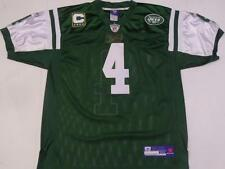 NWT Brett Favre #4 New York Jets RBK OnField Authentic Sewn Jersey Green 50 Lrg