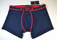 NWT MENS EMPORIO ARMANI NAVY BLUE/RED COTTON BRIEF UNDERWEAR SZ L XL