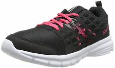 Reebok M48713: Women's Speed Rise Running Shoe, Black/Blazing Pink/White