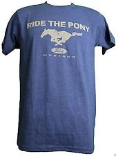 Ford Mustang Ride the Pony Adult T-Shirt