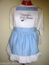 MOTHER OF THE GROOM PARTY APRONS for Bridal Showers M2O Can be personalised