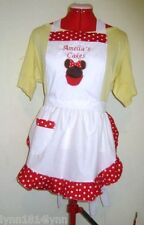 LADIES MINNI MOUSE CUPCAKE APRON All sizes  Avaiable most colors Made 2 order