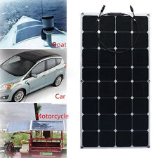 30`1000WSemi Flexible SUNPOWER Solar Panel Cell Battery Charger Car RVs Boat