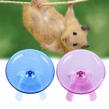 Ultra-quiet Flying Saucer Exercise Wheel Hamster Cage Toy Small Spinner For Pet
