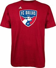 FC Dallas Adidas MLS Primary Logo Men's Red T-Shirt