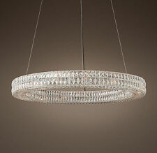 pendant LED crystal light Chandelier Kitchen Modern crystal ceiling lamp fixture