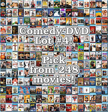 Comedy DVD Lot #4: 248 Movies to Pick From! Buy Multiple And Save!