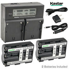 NP-FM500H Battery&Dual Fast Charger for Sony DSLR-A350X A450 A450L A450Y A500