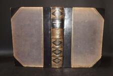1859 WORKS OF JOHN BUNYAN Vol I Pilgrim's Progress HOLY WAR &c Leather