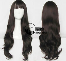 Model Style Lolita Heat Resistant Wigs Long Wavy Hair Cosplay Wig+Free Wig Cap