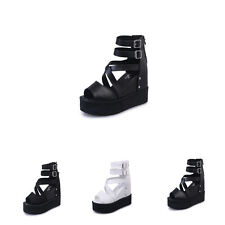 new womens wedges ladies high heel platform ankle ankle strappy sandal shoes