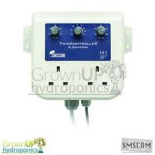 NEW - SMSCOM Twin Controllers - Automated Fan Speed/Climate