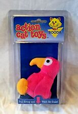 Booda Action Cat Toys Shaking Cat Kitten Catnip Toy 2 Designs Cow or Parrot NEW