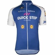2017 QUICK STEP FLOORS BLUE Cycling Jersey Retro Bike Kit Ropa Ciclismo MTB Mail