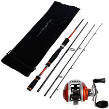 Fishing Rod and Reel Combos Spincasting Fishing Tackle Tools Fishing Pole Kits