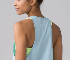 NEW Lululemon Sweat Date Singlet Tank Pure Blue Baby Blue --- NWT Size 6
