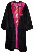 Harry Potter Gryffindor School Crest Adult Size ROBE w/Hood and Tie