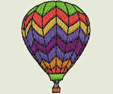 Hot Air Balloon Machine Embroidery Designs - 25 Designs on CD/USB -11 Formats