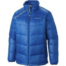 COLUMBIA NEW MENS GOLD 650 TURBODOWN DOWN JACKET MARINE BLUE NWT RETAIL FOR $150