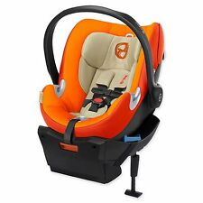 NEW SEALED BOX Cybex Aton Q Infant Baby Car Seat & Base w/ Load Leg Autumn Gold