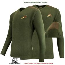Jack Pyke Game Shooting Jumper / Pullover with Pheasant Logo. Hunting / Beating
