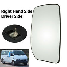 Right /Left Driver Side RHD Heated Clear Wing Door Mirror Glass For FORD TRANSIT