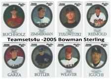 2005 Bowman Sterling Baseball Set ** Pick your Team **