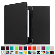 """All-New Kindle 6"""" 2016 Amazon Kindle 8th Generation Smart Leather Case Cover"""