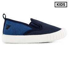 Walnut Melbourne Kids' Charlie Cruise Shoe - Navy Combo