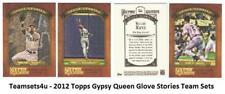 2012 Topps Gypsy Queen Glove Stories Baseball Set ** Pick Your Team **