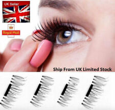 5 sets of Magnetic Eyelashes 3D Handmade Mink Reusable False Magnet Eye Lashes