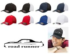 1973 1974 Plymouth Road Runner Classic Car Color Outline Design Hat Cap