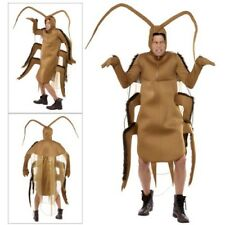 Smiffys Adults Cockroach Novelty Insect Creepy Bug Halloween Fancy Dress Costume