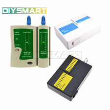 Professional RJ45 RJ11 Cat5e Cat6 Super Network Lan Cable Tester Test Tool