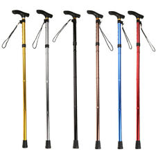 Foldable Walking Stick Cane Adjustable Retractable Hiking Trekking Poles