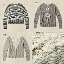 New Abercrombie & Fitch & Hollister Women's Easy Fit Sweater Size XS/S, M/L