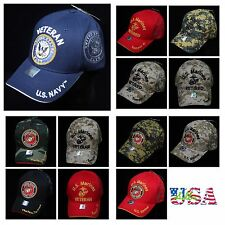 USA Marine Corps Cap Navy Veteran Retired Baseball Caps Military Licensed Hat