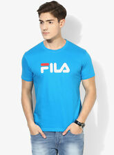 Fila Eagle Blue Round Neck T-Shirt
