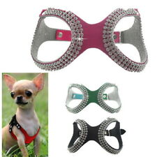 Pet Small Teacup Dog Harness Soft Vest Puppy Collar chihuahua yorkie S/M/L UI