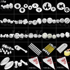Cake Bread Cookie Sugarcraft Pastry Decorating Plunger Cutters Mold Tools ZHO1n