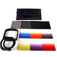 14-in-1 Gradual Filter Kit+ND2 ND4 ND8 ND16+Ring adapter+Case For Cokin p series
