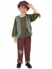 Boys Victorian Costume Poor Urchin Kids Childs Children's Fancy Dress Up Outfit