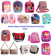 GIRLS TROLLS MINNIE SHIMMER & SHINE BACKPACK SHOULDER BAG SCHOOL BAG XL BACKPACK