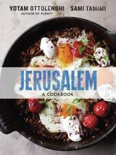 JERUSALUM : A Cookbook by Yotam Ottolenghi and Sami Tamimi (2012, Hardcover) NEW