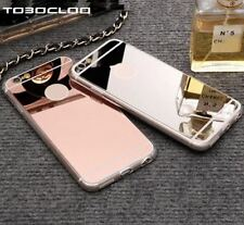 Luxury Ultra Thin Mirror Soft TPU Case Cover for iPhone 5 6 Plus iPhone 7 Plus