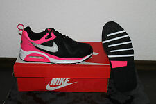 Nike Air Max Trax Women's Running Shoes Black Shocking Pink Silver Size 36,5; 38