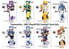 2007 Playoff NFL Football Set ** Pick Your Team **