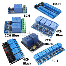 12V 1/2/4/8/16 Channel Relay Module With optocoupler For PIC AVR ARM Arduino