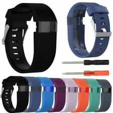 Silicone Replacement Wristband Watch Band Strap For Fitbit Charge HR Free Ship